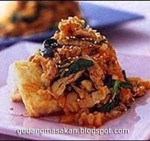 Resep Masakan Tahu Acar Ayam