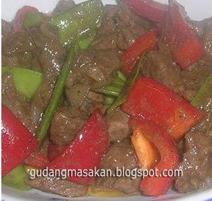 Resep Masakan Daging Iris Manis
