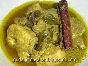 Resep Masakan Kari Ayam Hijau