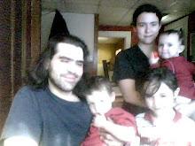 Zack, Frankie, Kyah, Kary& Miranda (front to back)