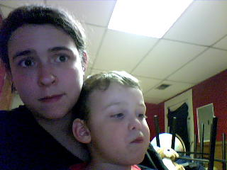 me and my lil autie :D