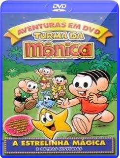 Filme Poster A Turma Da Mônica E A Estrelinha Mágica DVDRip XviD Nacional