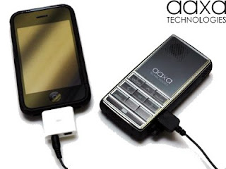 Aaxa Tech Announced The Launch Of Their IPhone And IPod Touch Adapter For L1 Laser Pico Projector Retail 25 Available Now