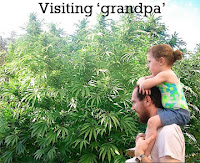Visiting 'grandpa'