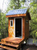 Composting outhouse