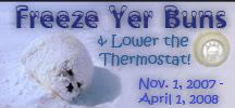 Freeze Yer Buns Challenge