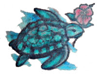 My sea turtle tattoo