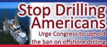 Stop Drilling Americans