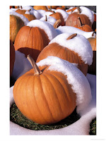 Frozen pumpkins