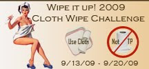 Cloth Wipe Challenge 2009