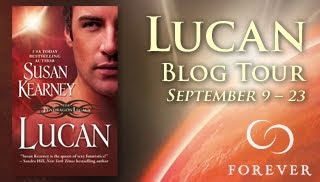Lucan Author Susan Kearney Guest Post and Giveaway!