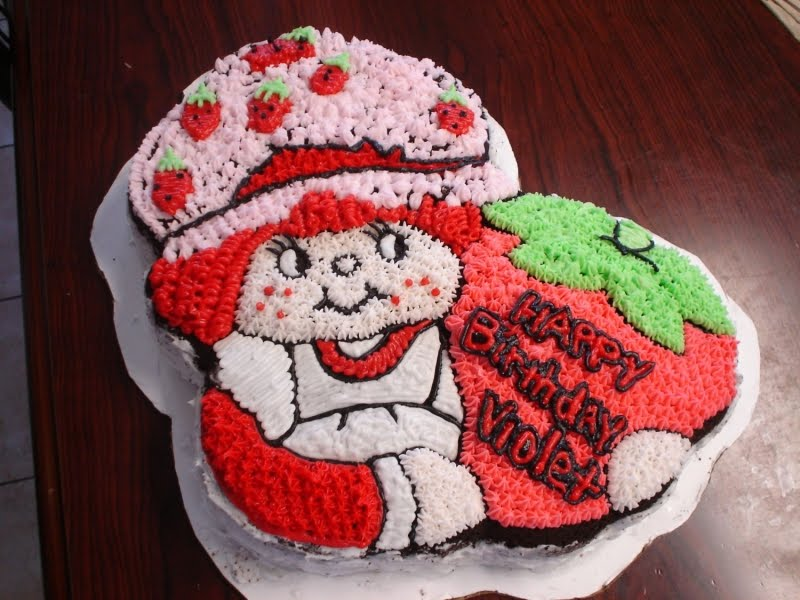 Strawberry Shortcake cake~