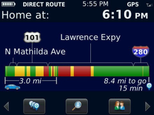 Blackberry Traffic