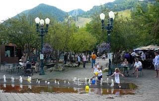 Mill Street Fountain, Aspen CO