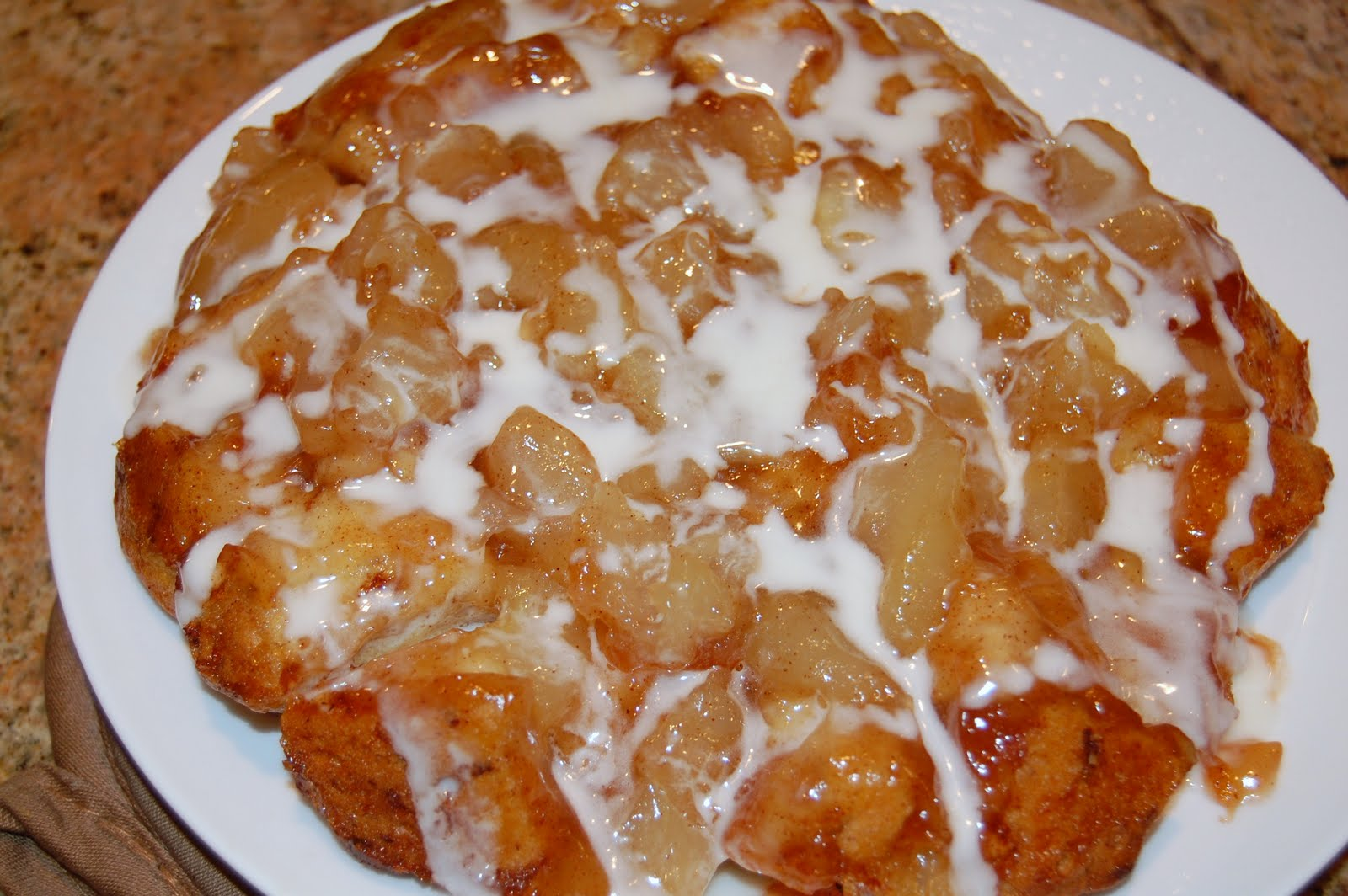 Meals at the Muirs: Upside Down Cinnamon Apple Coffee Cake