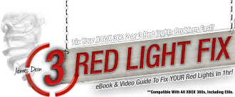 XBOX 3 Red Light Fix Pro
