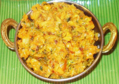 recipe: curried cabbage and potatoes [31]
