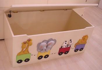 Simple pero lindo ayuda para hacer decoraciones - Cajas de madera para guardar juguetes ...
