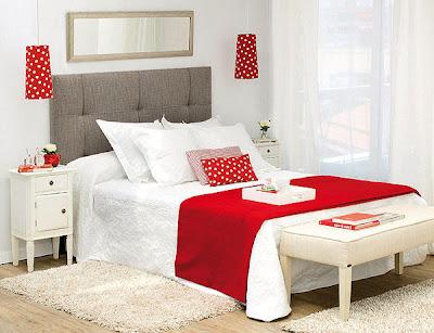 house ideas decorations: Cabeceras y mesillas para camas de matrimonio