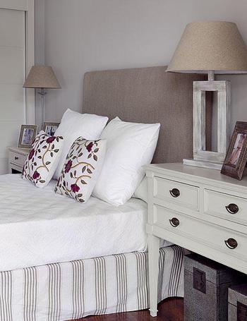 Cabeceros originales decoraci n retro - Telas para forrar cabecero cama ...