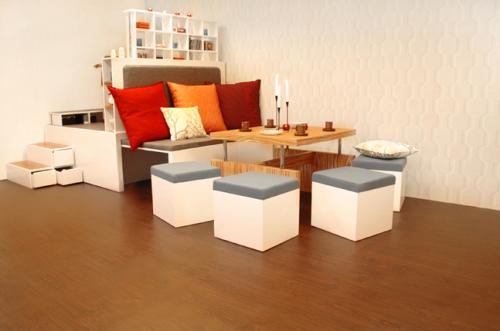 Revista populares muebles estilo matroshka para espacios - Muebles practicos para espacios pequenos ...