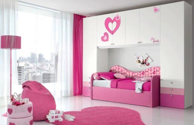 Dormitorio barbie para ni as so adoras decoracion endotcom - Decoracion dormitorio nina ...