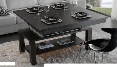 Mesas extensibles y elevables para peque os espacios simple but luxurious homes - Mesas elevables y extensibles ...