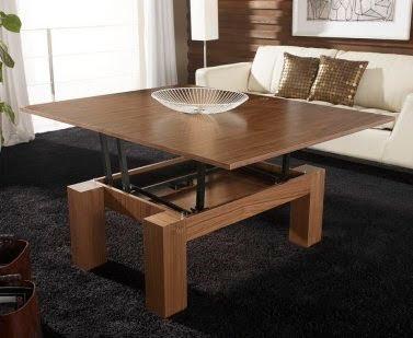 Mesas extensibles y elevables para peque os espacios simple but luxurious homes Mesas para espacios pequenos
