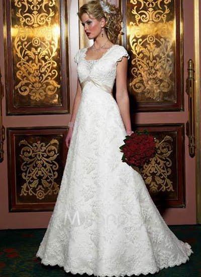 vestido de novia: telas para el vestido de novia