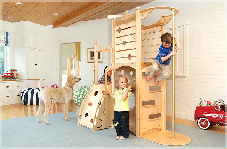 Camas divertidas en madera natural para ni os cool kids for Cama modular infantil