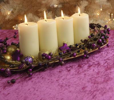 Web de la navidad adornos para el centro de mesa en navidad - Centros de navidad originales ...