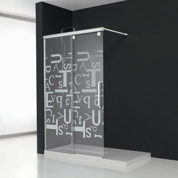 Cortina De Baño O Mampara:De diseño más sencillo son las mamparas de la colección Vetro Se