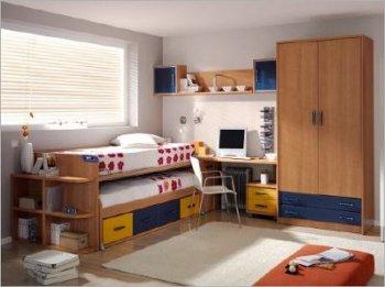 Camas nido para ni os double beds decoracion de salones for Camas nido ninos pequenos