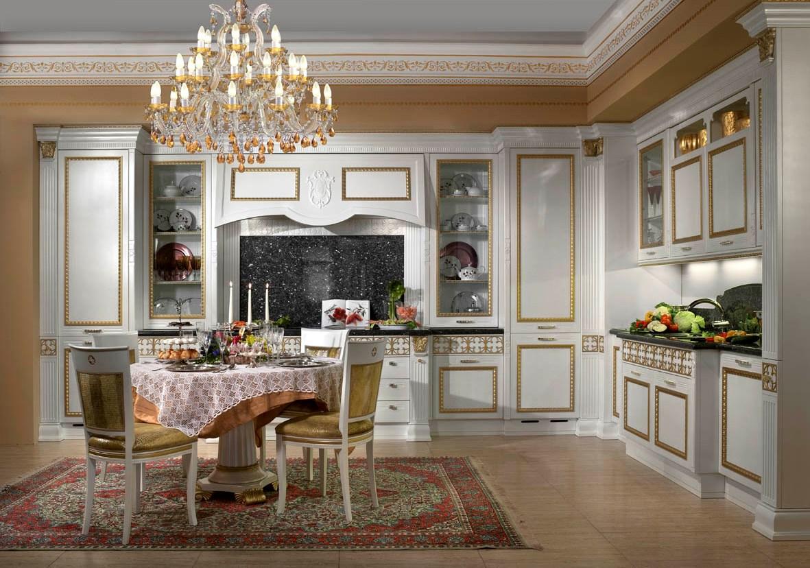 Diseño clásico de la cocina italiana por Arca title=