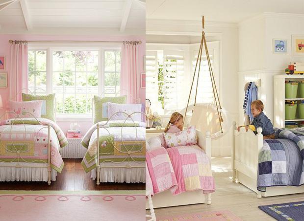 Decoraci n del dormitorio infantil decoracion de salones - Decoracion cuarto infantil nina ...