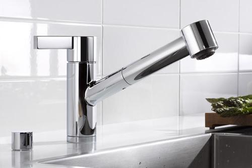 Nuevo grifo de cocina eno de ducha extendible decoracio for Grifo cocina extensible