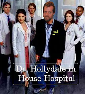 Dr. House is really Speedcat Hollydale MD