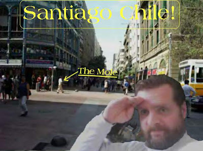 Santiago Chile & Harry Mole