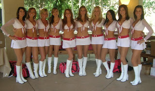 Cardinals cheerleaders are super hot BABES !