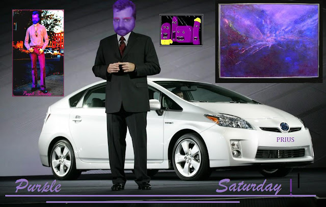 Prius year 2010 purple for Purple Frog & Cat
