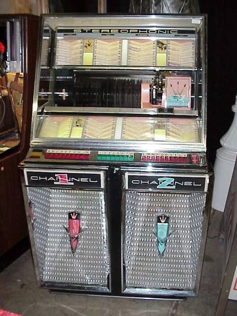 stereophonic juke box antique
