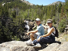 Reet and Bob Sinks Canyon Falls, WY