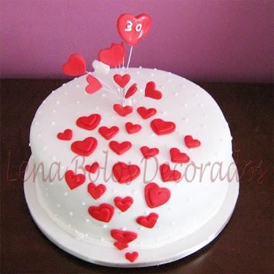 Lena bolos decorados bolo para aniversrio de 30 anos bolo para aniversrio de 30 anos altavistaventures Gallery
