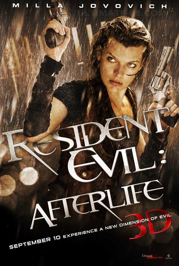 Resident Evil After Life cartaz Resident Evil Afterlife Legendado