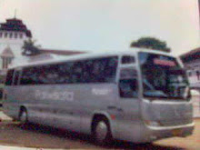 Iklan Jasa Transport. Bus Patriot Pariwisata