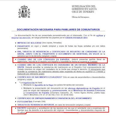 Inmigraci n una oportunidad documentaci n necesaria para for Oficina de extranjeros madrid