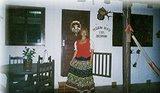 Eu vestida de Frida