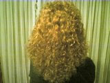Eu peluda crespinha