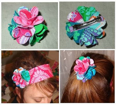 rose accessories for hair step by step …