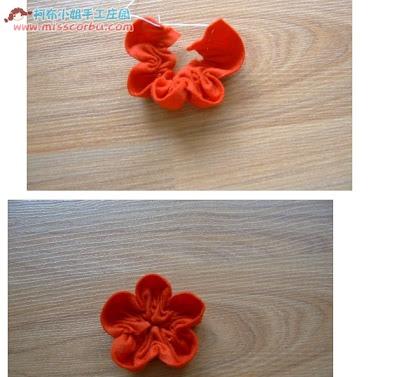 цветы из фетра мастер-класс